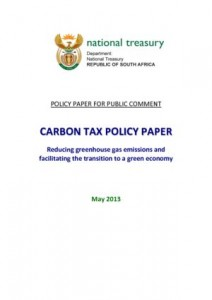 Carbon Tax Policy Paper 2013
